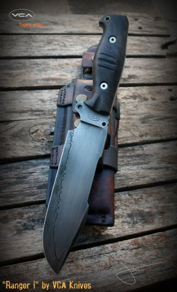 VCA Ranger (protótipo) - Ranger I   VCA Knives Portfolio   VCA Custom Knives