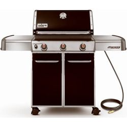 Do some glamorous grilling with this Weber Genesis EP-310 gas grill! Available in Snow's stores! https://www.snowshomeandgarden.com/products/weber-genesis-ep-310-black-gas-grill-11775.html