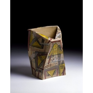 Yellow triangle | Britton, Alison | V Search the Collections