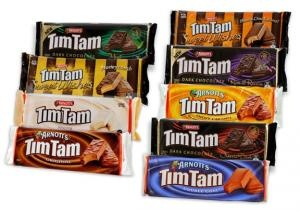 Arnotts Tim Tams Choclate Biscuts