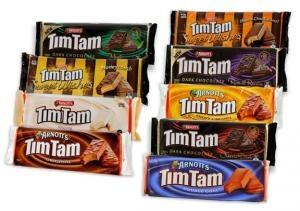 Arnotts Tim Tams Choclate Biscuts