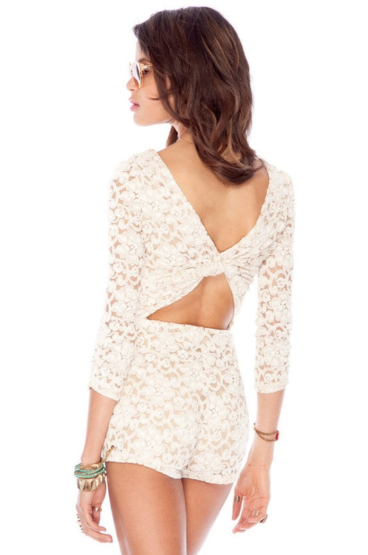 Hypknotic Laced Romper: Creme Rompers, Cream Rompers, Cutest Rompers, Romperrr My Styl, Lace Rompers, Hypknot Lace, Cute Rompers, Creme Romperrr, Summer Night