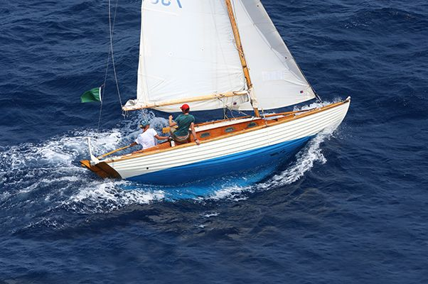 Boats Under 10 000 We Are Aboard The Nordic Folkboat It Has Been Described As A Nautical Volkswagen Beetle It Has Bee In 2020 Sailing Ship Model Classic Boats Boat