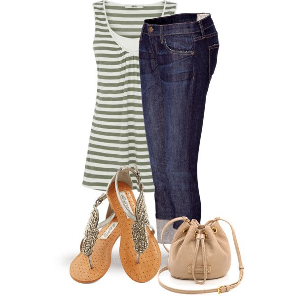 A fashion look from August 2014 featuring Oasis vests, Current/Elliott jeans and Marc by Marc Jacobs handbags. Browse and shop related looks.