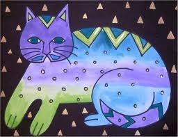 Laurel Birch cats. Have always loved her work!