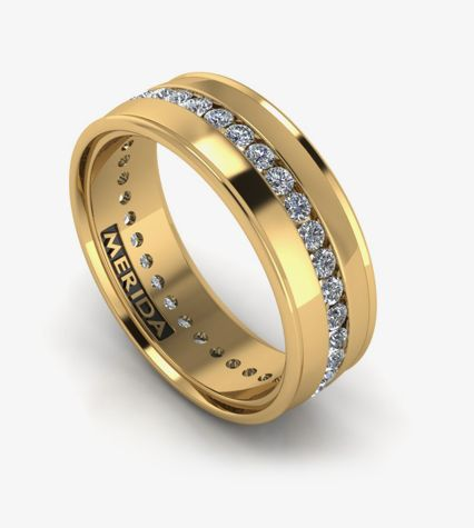 Our Diamond Wedding Bands For Men Will Gather A Lot Of Attention Probably