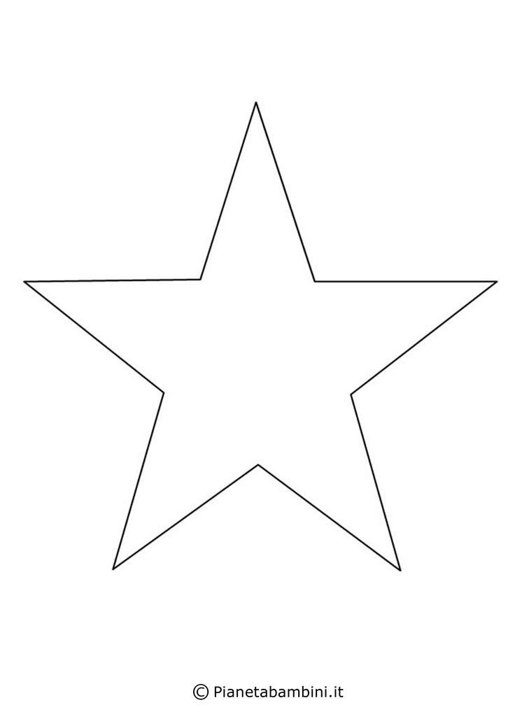 Tanti disegni di stelle di diverse dimensioni e forme ...