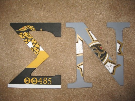 Sigma Nu painted wood letters!.....THETA THETA CHAPTER! I think this is Cantrell's?