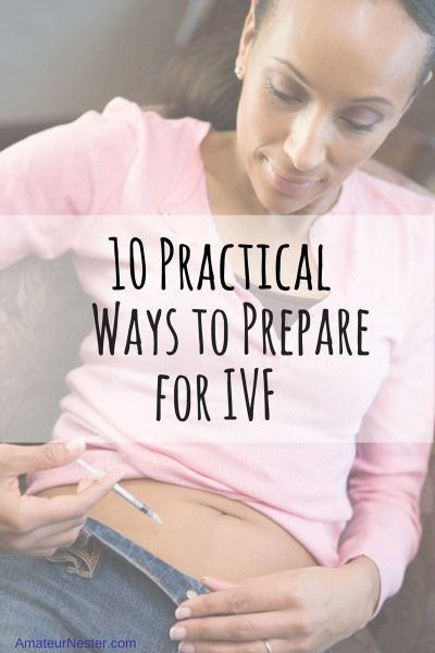 10 Practical Ways to Prepare for IVF | AmateurNester.com | encouragement during infertility