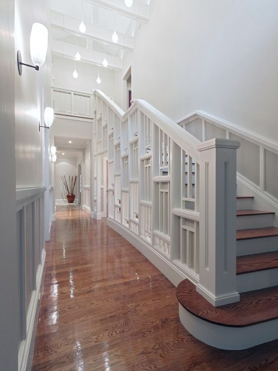 1000 Ideas About Indoor Stair Railing On Pinterest
