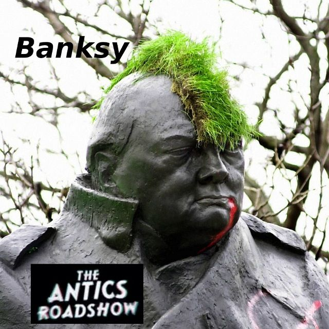 Banksy's the Antics Roadshow