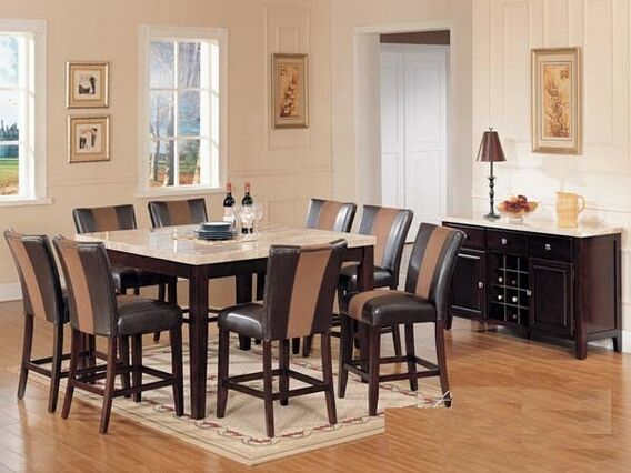Countertop Dining Room Sets Awesome Decorating Design