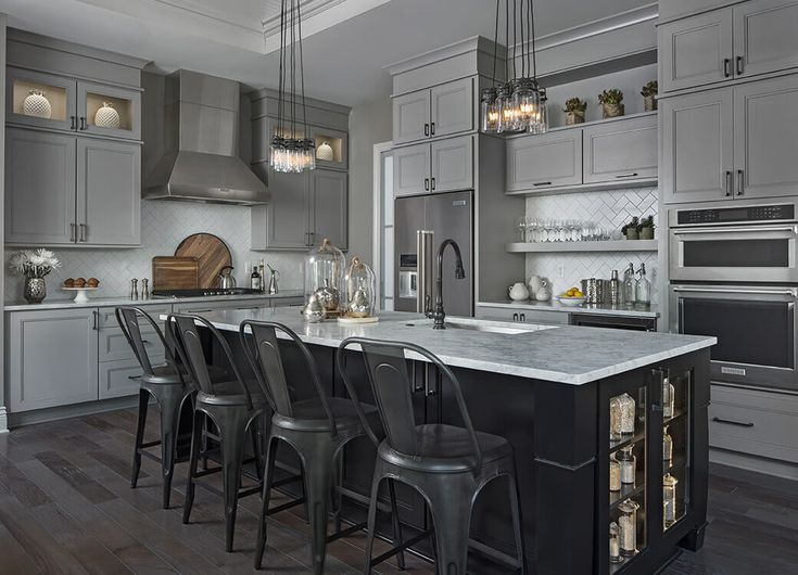 Transitional Kitchen Design In Macomb MI By KSI Kitchen And Bath House 201