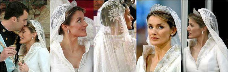 princess letizia wedding dress - Yahoo Search Results | Rooyals of ...