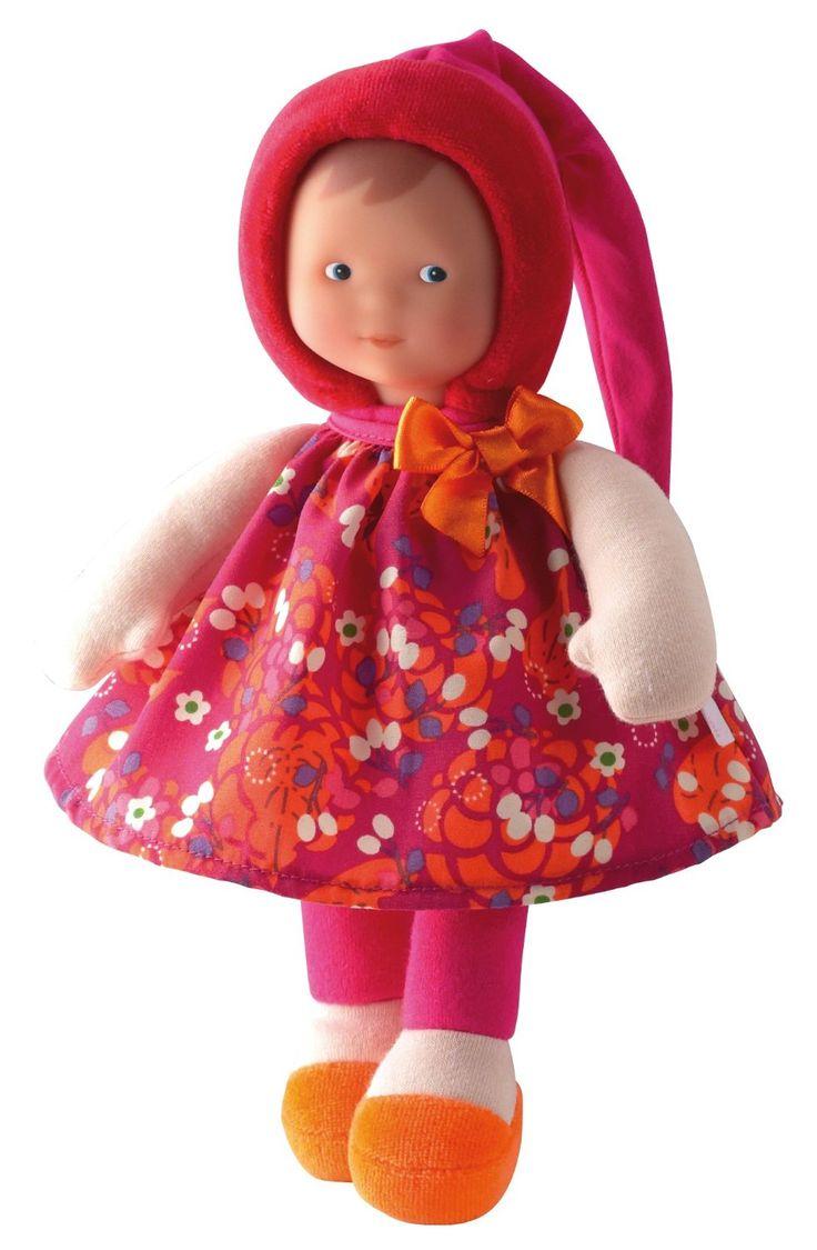 Mademoiselle Cerise réclame des câlins de votre petite fille ! #Corolle