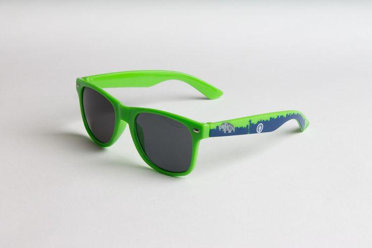 Seattle Skyline Sunglasses - Hawks' Colorway