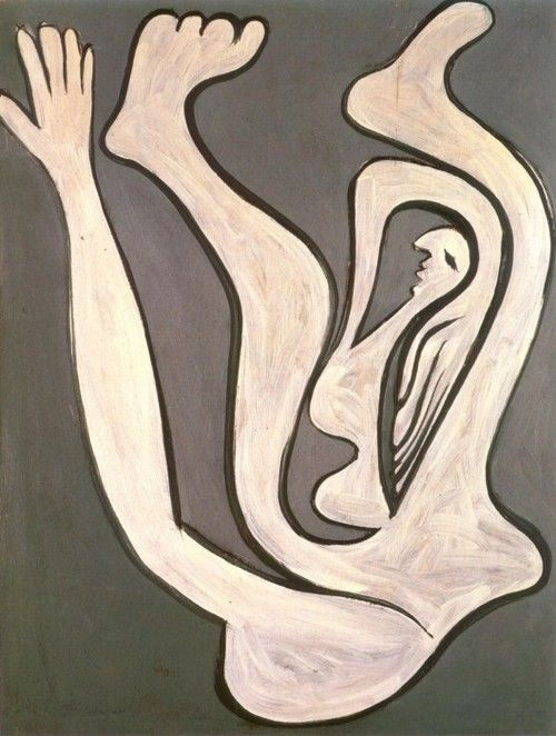 picasso/femme acrobate, 1930