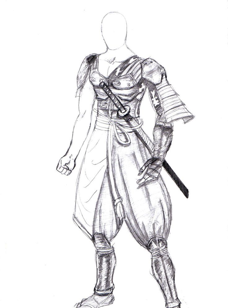 Male Samurai Idea.