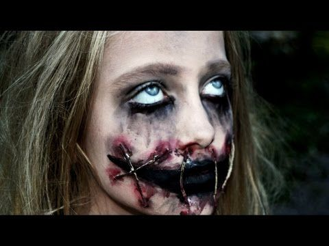 Trucco Halloween horror per bambina - VideoTrucco