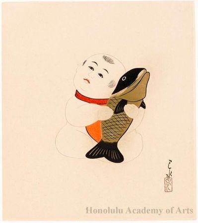 Object Title: Gosho Ningyö (Palace Doll) Series Title: The Japanese Dolls Gosho Ningyo Date: c. 1930 Artist: Kawase Hasui