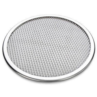 Astra shop Seamless-Rim Aluminum Pizza Screen, 9 Inch ** To view further, visit now : Pizza Pans and Stones