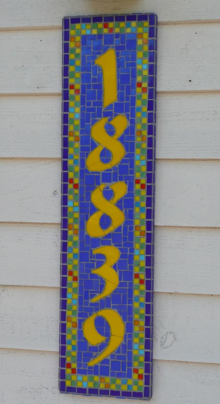 Mosaic House Plate...