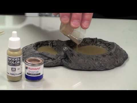 ▶ Creating Simple Water Effects - YouTube http://www.pinterest.com/dennisnozawa/miniature-life/