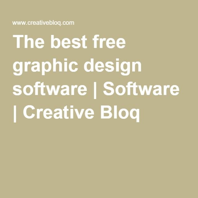 The best free graphic design software | Software | Creative Bloq