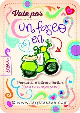 moto © ZEA www.tarjetaszea.com Más