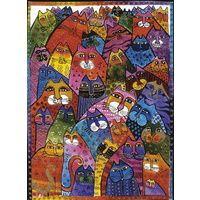 Ravensburger - Laurel Burch: World of Cats 1000pc