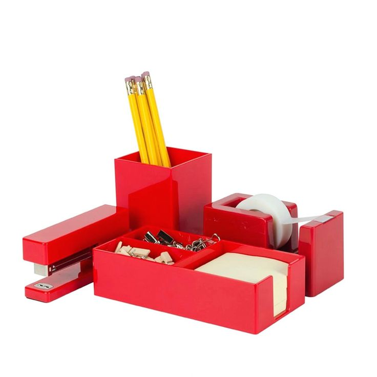 Red Desk Accessories - Used Home Office Furniture Check more at http://michael-malarkey.com/red-desk-accessories/
