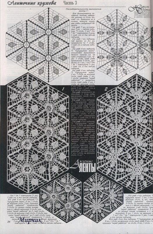 Muster Kettenmuster häkeln - crochet pattern