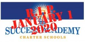 Success Academy Charter School closes its final school on January 1, 2020. Read the entire account here.