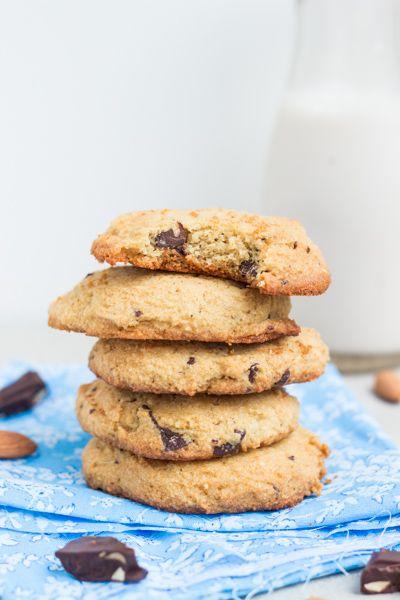 Grain Free Chocolate Chunk Cookies via @Balanced Platter | #glutenfree (these do contain eggs)