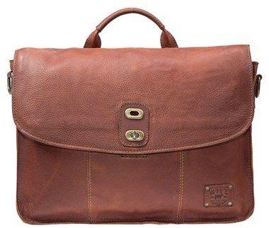 Men's Will Leather Goods 'Kent' Messenger Bag - Brown