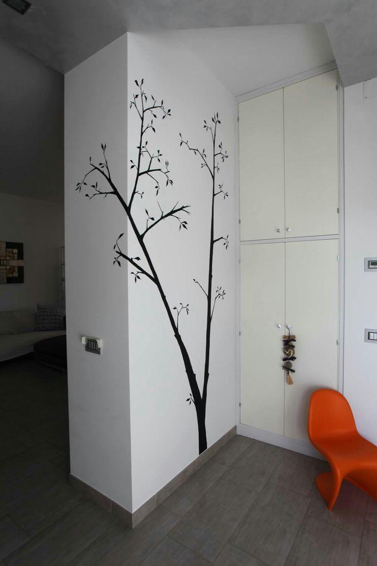 Oltre 25 fantastiche idee su decorazione da parete ad - Albero su parete ...