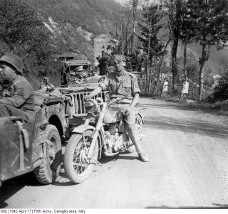 1945 April 17 Fifth Army  Cereglio appennino