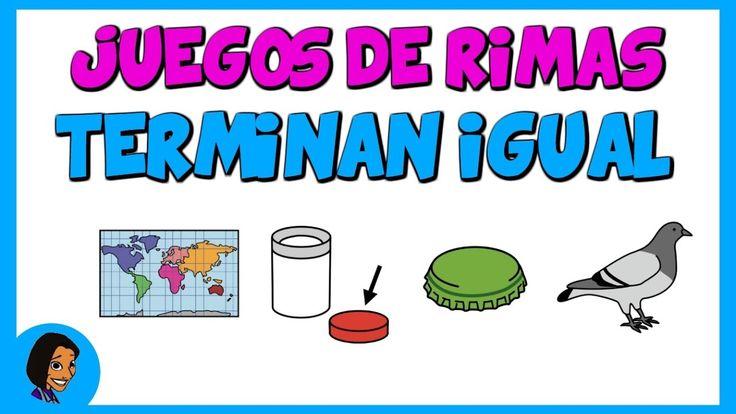 Juegos de rimas para niños: Terminan igual_Eugenia Romero