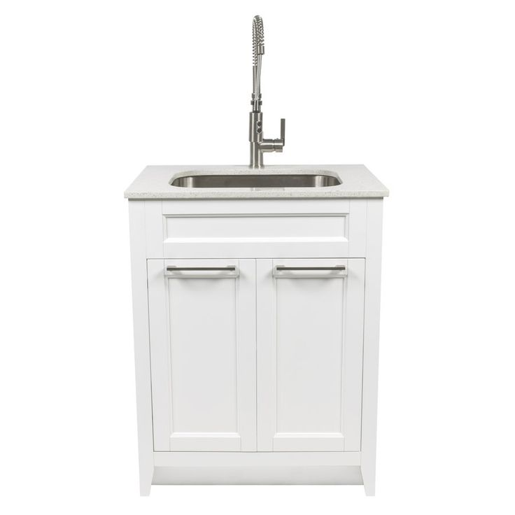 Shop foremost warner 29 in x 22 in white laundry cabinet for Foremost homes price list