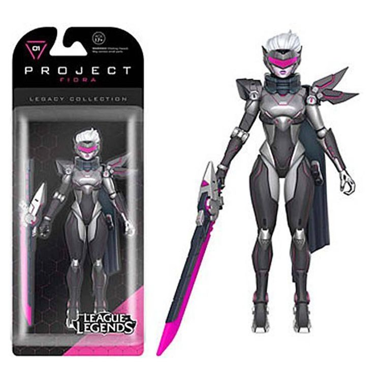 Funko Legacy Figures - Funko League Of Legends Legacy Collection Project Fiora Action Figure