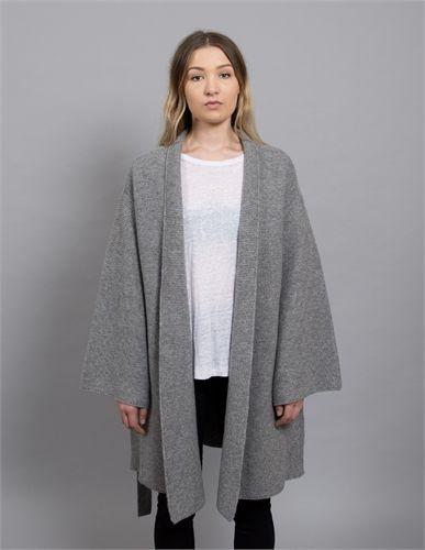 MARLE ALEX COAT GREY MARLE-jackets & coats-AREA 51