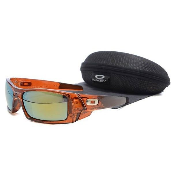 oakley gascan sunglasses brown  $15.99 cheap oakley gascan sunglasses yellow blue iridium clear brown frames us outlet deal
