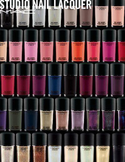 EXCLUSIVE PREVIEW: MAC Nail Transformations Lacquer, New Studio Nail Polish Formula & Brush