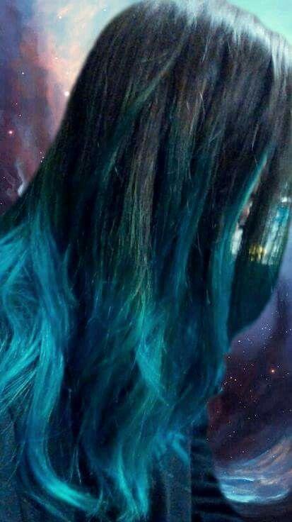 Hair, Blue hair, cabello, mechas californianas azules, cabello azul, tinte, moda