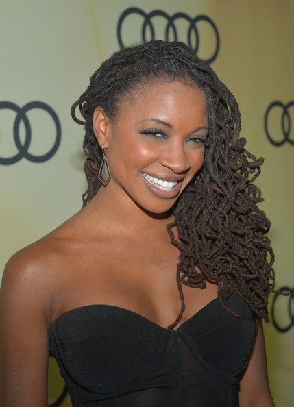 Shanola Hampton Actress Shanola Hampton attends the Kick Off for Golden Globes Week 2012 hosted by Audi at Cecconi's Restaurant on January 6...