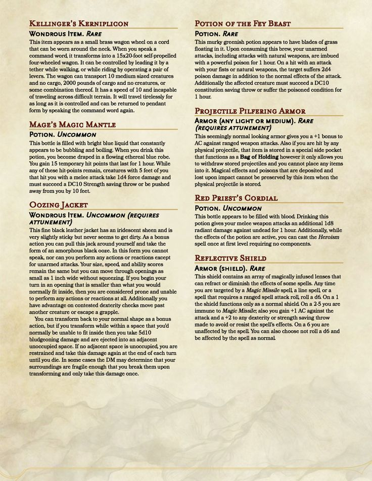 Crafting Magic Weapons Pathfinder
