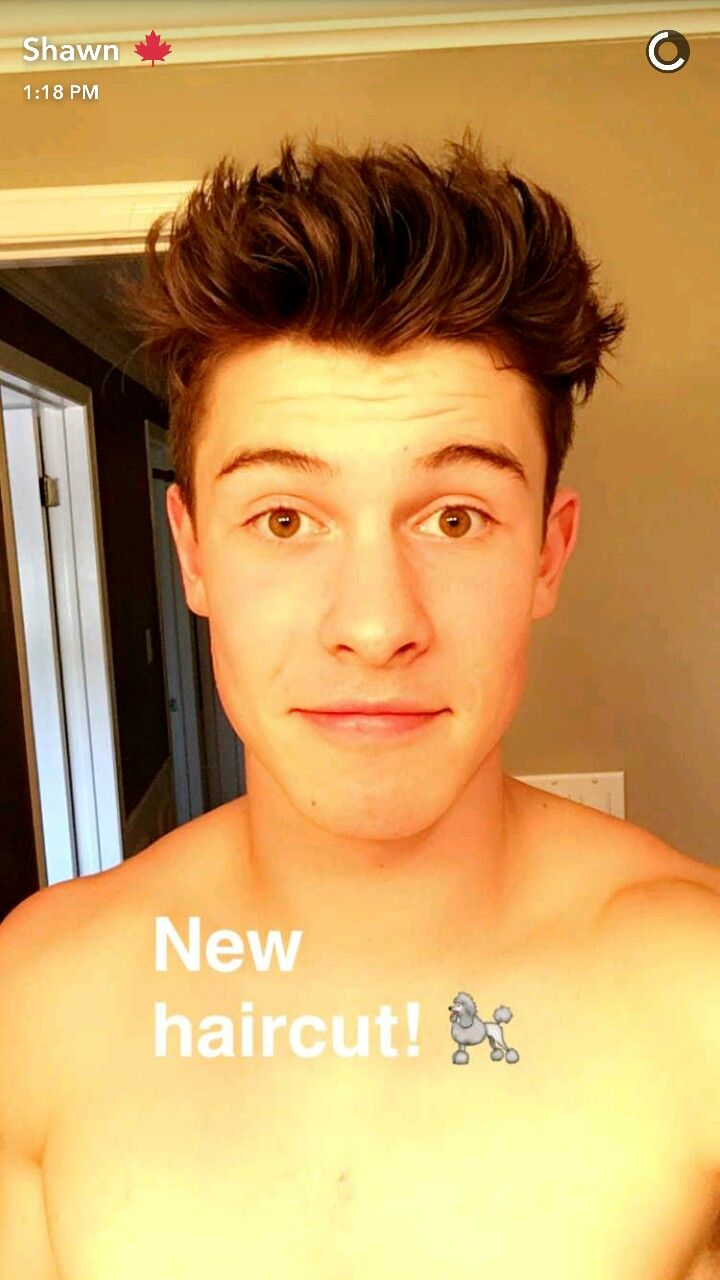Shawn Mendes on his snapchat I literally love it so much @camshwn