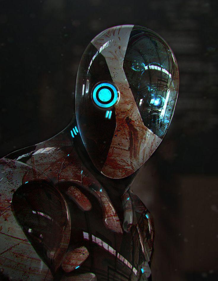 robot science fiction concept - photo #33