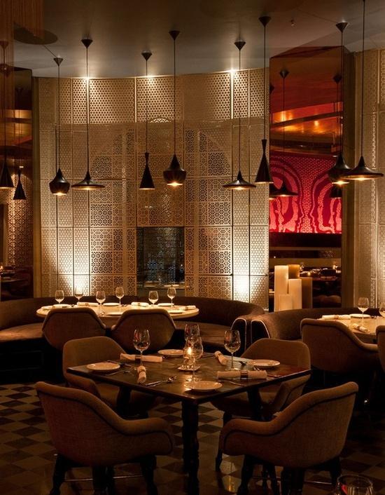 Kainoosh keya restaurant in new delhi india sri lanka - Indian restaurant interior design ...