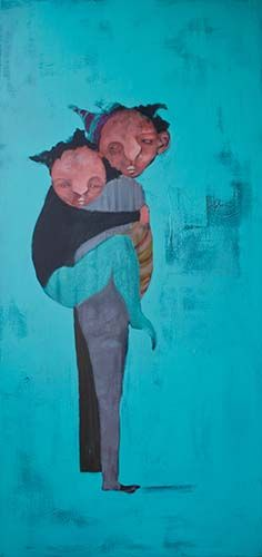Painting by Tamimi, Acrylic on canvas